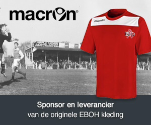 Sponsor en leverancier van de originele EBOH kleding