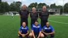 staand vlnr: Simon Wessels, Hans Koster en Joris Kardienaal zittend vlnr: Hoessin Jouhri, Rachid Mokhtari en Ab Zaada
